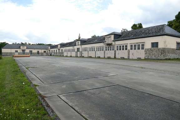 Augusta barracks stable built 1938